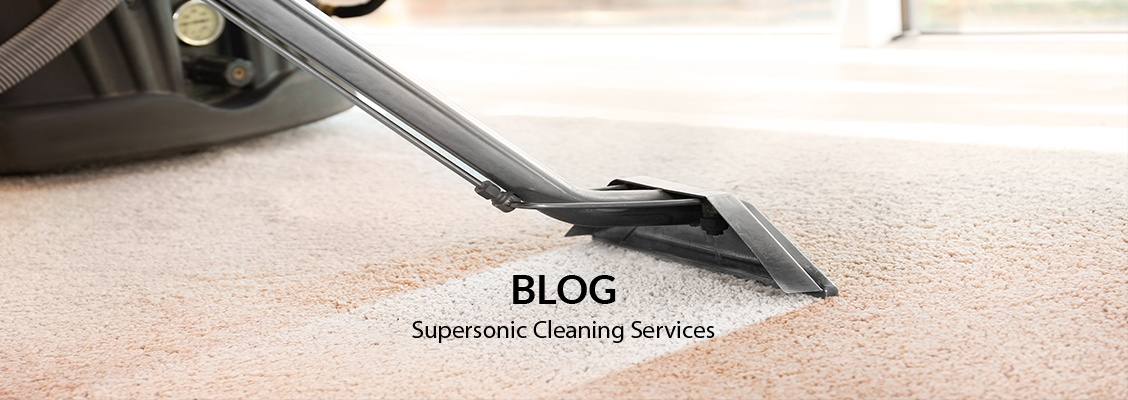 Blog by Supersonic Cleaning Services, Inc.